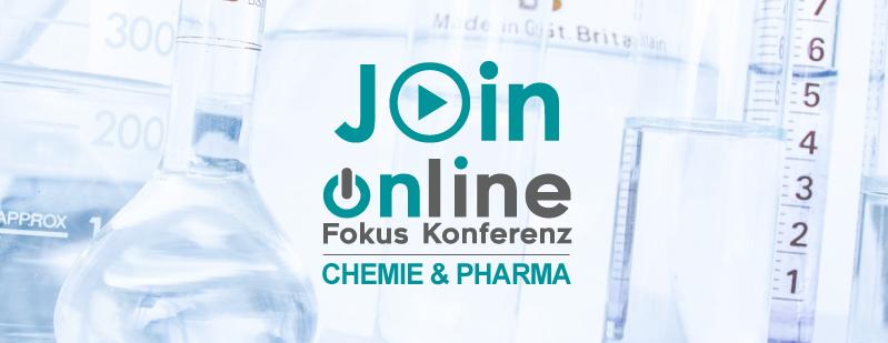 Online Fokus Konferenz Chemie Pharma