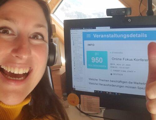 Neuer Besucherrekord bei der Online Fokus Konferenz MARKETING im November 2020